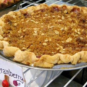 Apple Cranberry Crumb